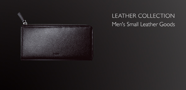 """LEATHER COLLECTION """"Men's Small Leather Goods""""; ?>"""